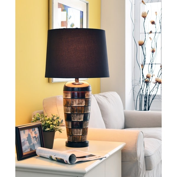 "Design Craft Sligo 30"" Table Lamp - Ceramic Glaze"