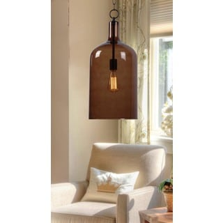 Corsica 1 Light Oil Rubbed Bronze Pendant Free Shipping Today Overstock C
