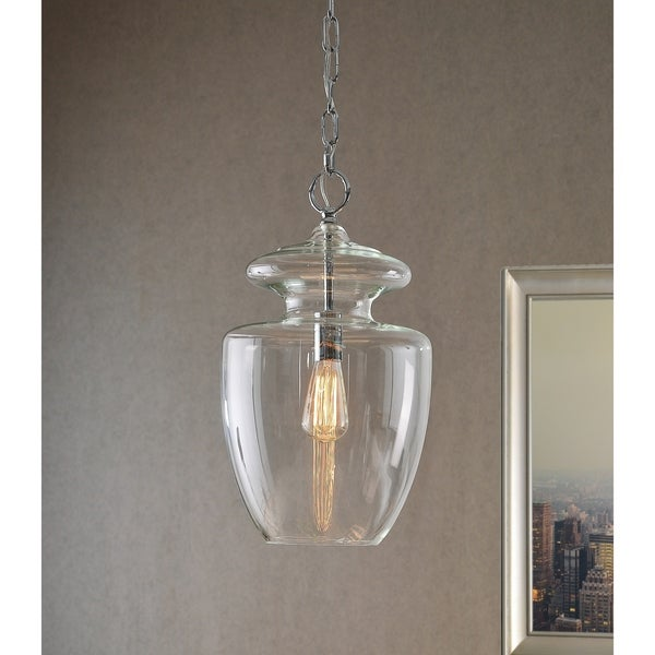 Baden 1-Light Clear Glass Pendant. Opens flyout.