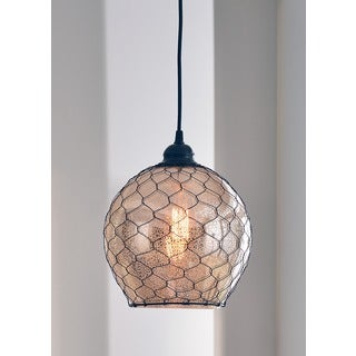 Design Craft Nord 1-light Blackened Oil Rubbed Bronze Pendant