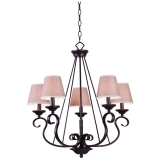 Kiel 5-light Oil Rubbed Bronze Chandelier