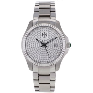 Jivago Women's 'Jolie' White Watch