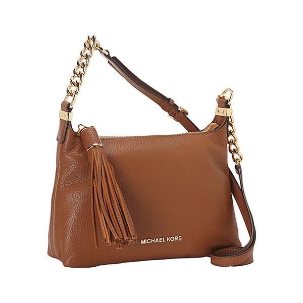 Shop Michael Kors Small Weston Pebbled Messenger Bag Free