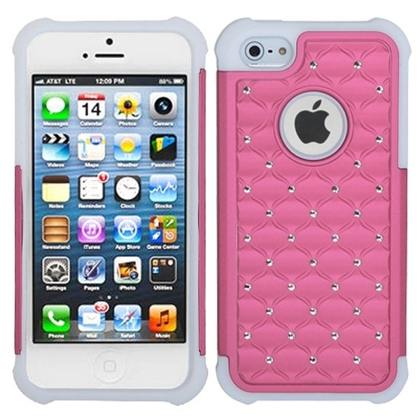 INSTEN TotalDefense Phone Case Cover for Apple iPhone 5