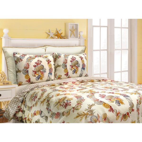 Shell Wreath 4-piece Comforter Set