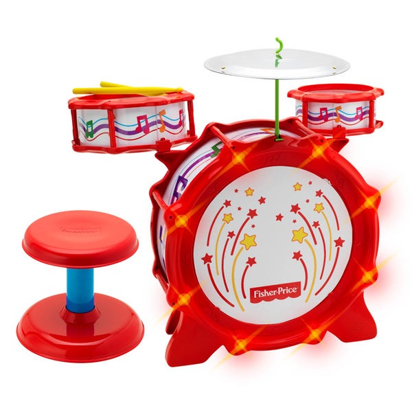 Fisher-Price Big Bang Drumset with Lights