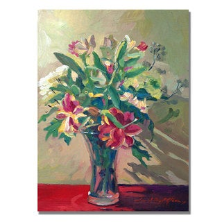 David Lloyd Glover 'A Glass Full of Spring' Canvas Art
