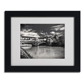 Giuseppe Torre 'Letters From Florence' Framed Matted Art