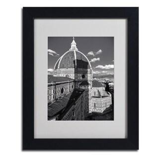 Giuseppe Torre 'Brunelleschi's Work' Framed Matted Art