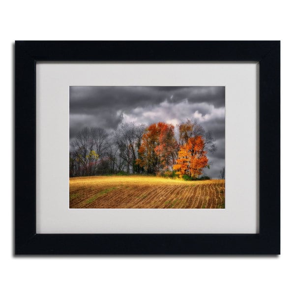 Lois Bryan 'Autumn Field' Framed Matted Art