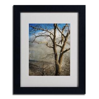 Lois Bryan 'Tree In Winter' Framed Matted Art