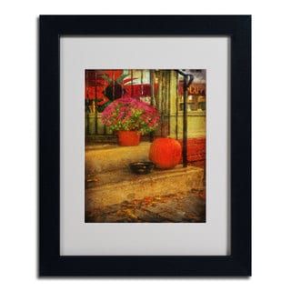 Lois Bryan 'Pets Welcome' Framed Matted Art