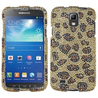 INSTEN Leopard Skin/ Camel Phone Case Cover for Samsung i537 Galaxy S4 Active