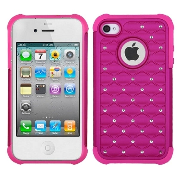 INSTEN TotalDefense Phone Case Cover for Apple iPhone 4/ 4S