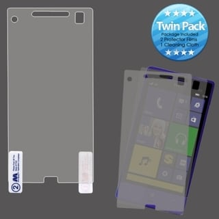 INSTEN Clear Screen Protector Twin Pack for HTC 8XT