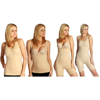 InstantFigure Women's 4-piece Total Shapewear Compression Set