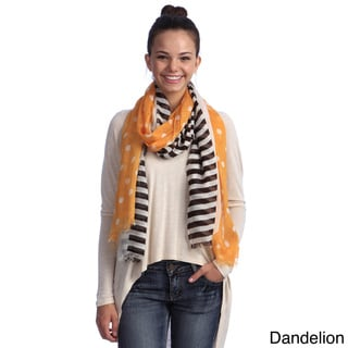 Link to Women's Polka Dots with Stripes Scarf Similar Items in Scarves & Wraps