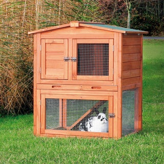 Trixie Glazed Pine Rabbit Hutch