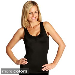 InstantFigure Shapewear Shirred Bust Tank Tops (Pack of 3)