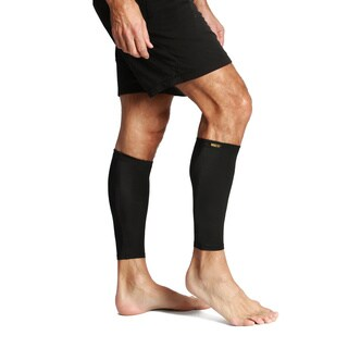 Insta Slim Black Compression Calf/ Leg Sleeves (Set of 2)