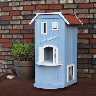 Trixie 3-story Cat House and Condo