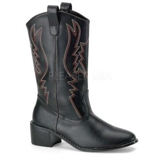 Funtasma Men's 'Cowboy-100' Mid-calf Cowboy Boots (3 options available)