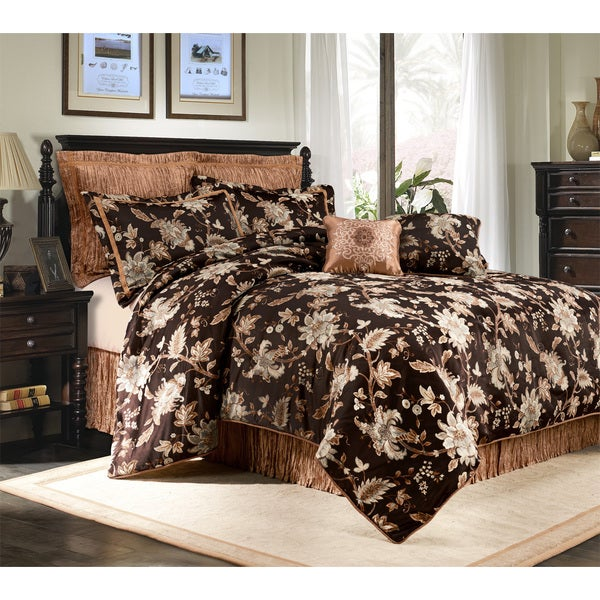 Belvedere Dark Java 8-piece Comforter Set