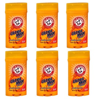 Arm & Hammer Ultra Max Active Sport Deodorant (Pack of 6)