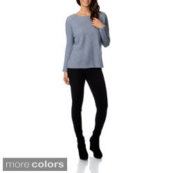 Ply Cashmere Women's T-Shape Cashmere Sweater