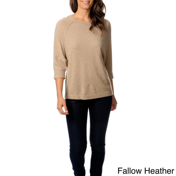 Ply Cashmere Women's Dolman Sleeve Sweater