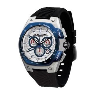 Jorg Gray Men's Chronograph Silvertone Dial Watch