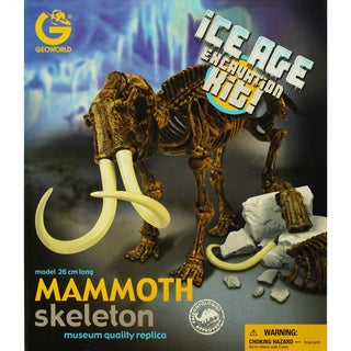 Ice Age Mammoth Excavation Kit