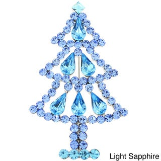Christmas Tree Pin Brooch