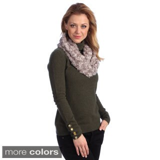 Women's Faux Fur Infinity Scarf (2 options available)