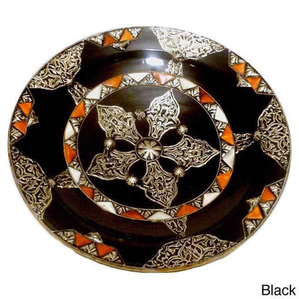 Handmade Decorative Ceramic Sahara Plate Morocco On Sale Overstock 8342157