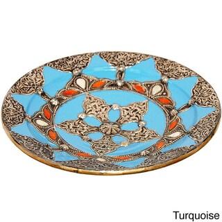 Decorative Ceramic Sahara Plate (Morocco)