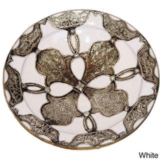 Handmade Decorative Ceramic Sahara Plate (Morocco)