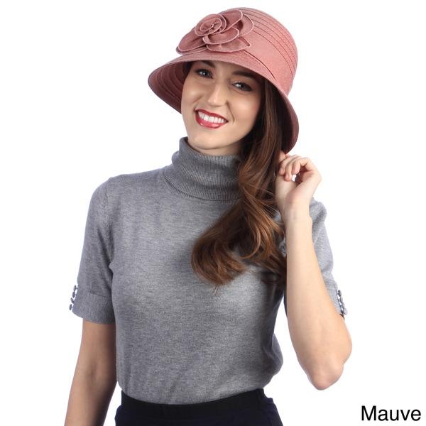 Swan Women's All-Year-Round Denim Ribbon Packable Hat