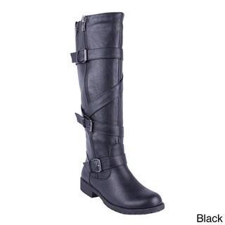DBDK Women's ''Solita-1 Knee-high Riding Boots