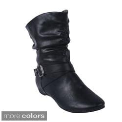 Blossom Women's 'AMAR-37' Mid-calf Boots
