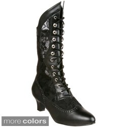 Funtasma Women's 'DAME-115' Heel Victorian Ankle Boots (More options available)