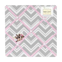 Sweet JoJo Designs Chevron Fabric Bulletin Board