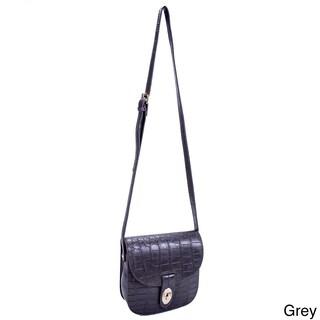Parinda Maya Textured Faux Leather Crossbody Bag (5 options available)
