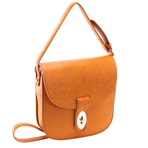 Parinda Maya Textured Faux Leather Crossbody Bag