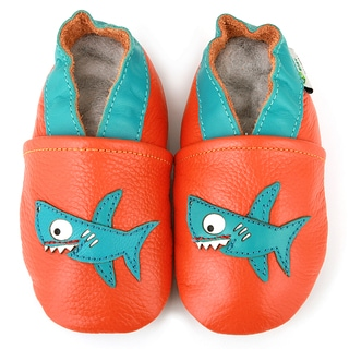 Shark Soft Sole Leather Baby Shoes