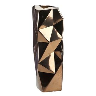 IMPULSE! Bronze 'Wrinkle' Vase