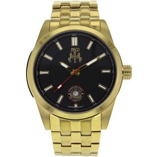 Jivago Men's 'Rush' Gold-tone Stainless Steel Watch