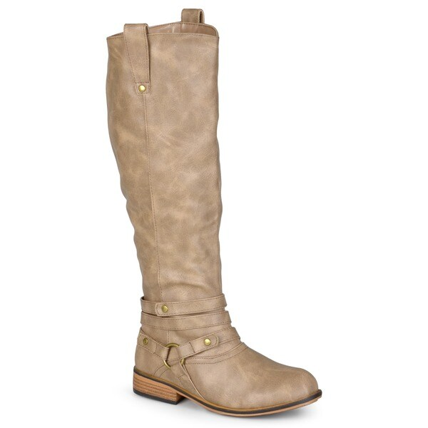 Walla Ankle-strap Knee-high Riding Boot