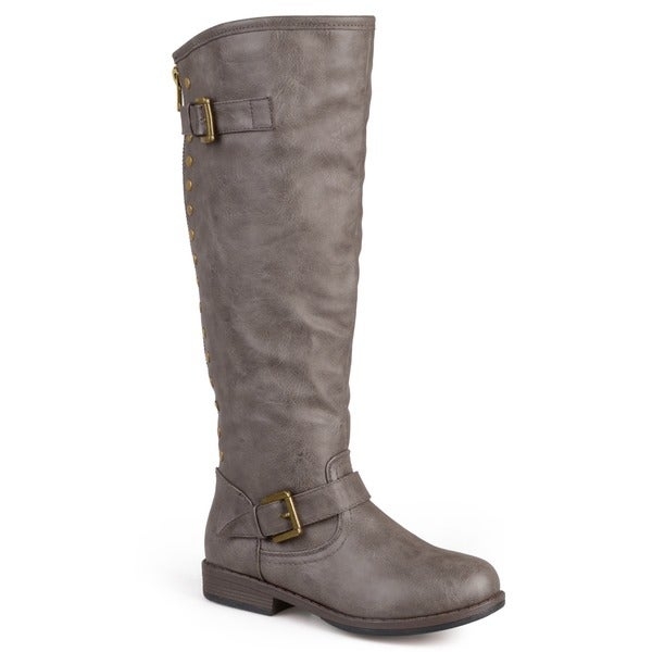 Journee Collection Women's 'Spokane' Regular and Wide-calf Riding ...
