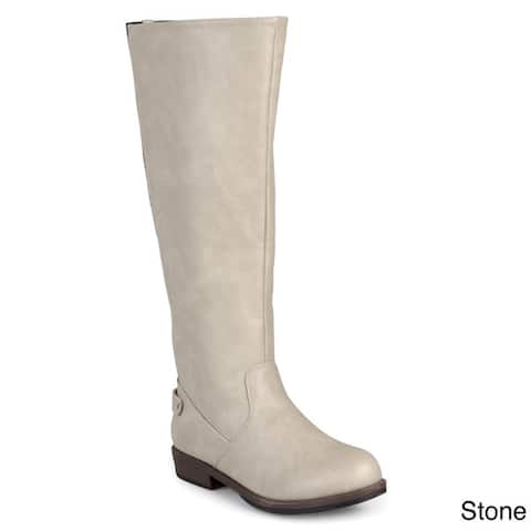 246004edf Journee Collection Women s  Lynn  Riding Boot